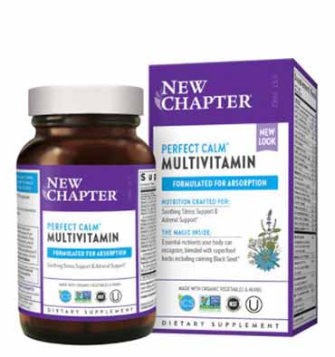 NEW CHAPTER, Perfect Calm Multivitamin, 72 Tabs