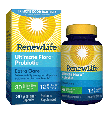 RENEW LIFE, Ultimate Flora Probiotic Extra Care 30 billion, 30 Vcaps.