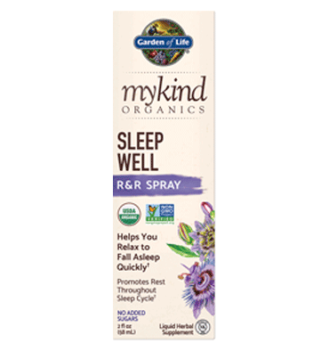 GARDEN OF LIFE, MYKIND, Sleep Well, 58 ml.