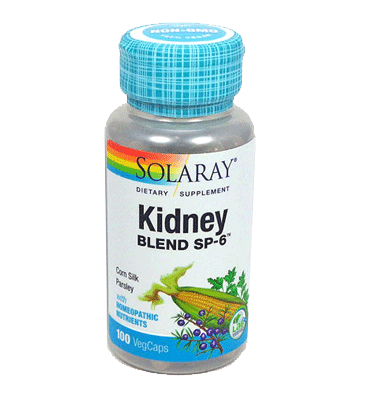SOLARAY, Kidney Blend SP6, 100 Vcaps