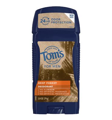 TOM'S OF MAINE, Desodorante para Hombre aroma Deep Forest, 79 gr.