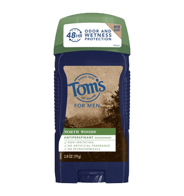TOM'S OF MAINE, Desodorante Natural para Hombre, North Woods, 79 gr.