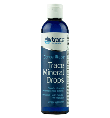 TRACE MINERALS, Research Trace Mineral Drops ConcenTrace, 237 ml.