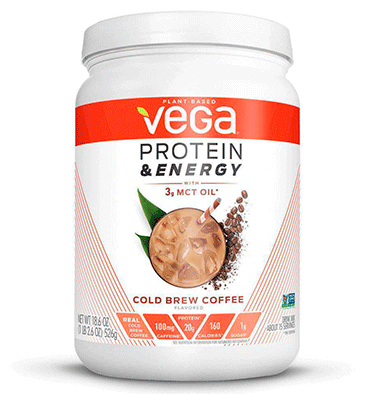 VEGA, Vega Protein and Energy Cold Brew Coffee, 527 gr.