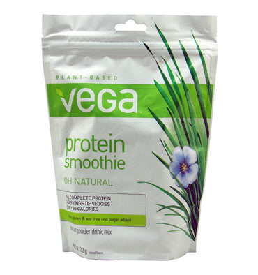 VEGA SMOOTHIE, Proteína Smoothie, Sabor Natural (Oh Natural), 252 gr.