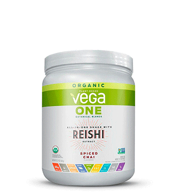 VEGA ONE ORGANIC, Vega One Organic Botanical Blends Spiced Chai with Reishi, 360 gr.