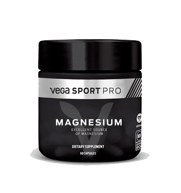 VEGA SPORT PRO SUPPLEMENTS, Magnesio, 60 vcaps