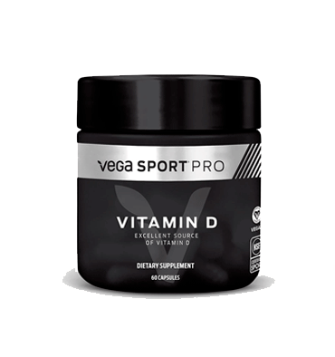 VEGA SPORT PRO SUPPLEMENTS, Vitamina D, 60 vcaps