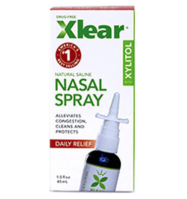 XLEAR, Nasal Spray con Xylitol y Grapefruit Seed, 1.5 oz