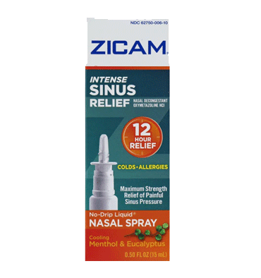 ZICAM, Alivio Sinusal Intenso, 15 ml.