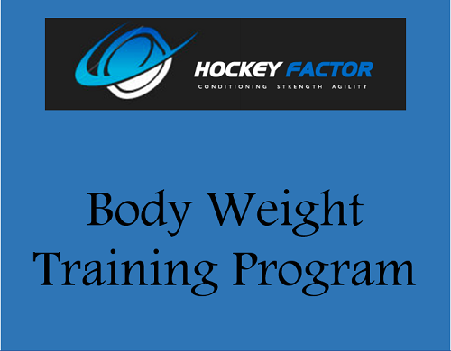 Body Weight Training Program