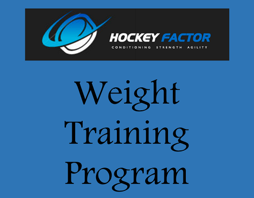Weight Training Program