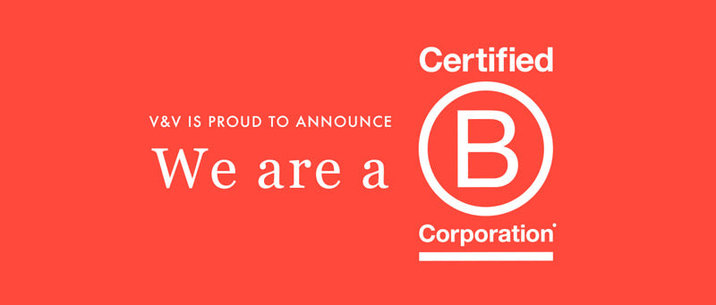 V&V is now a B Corp! – Vert & Vogue