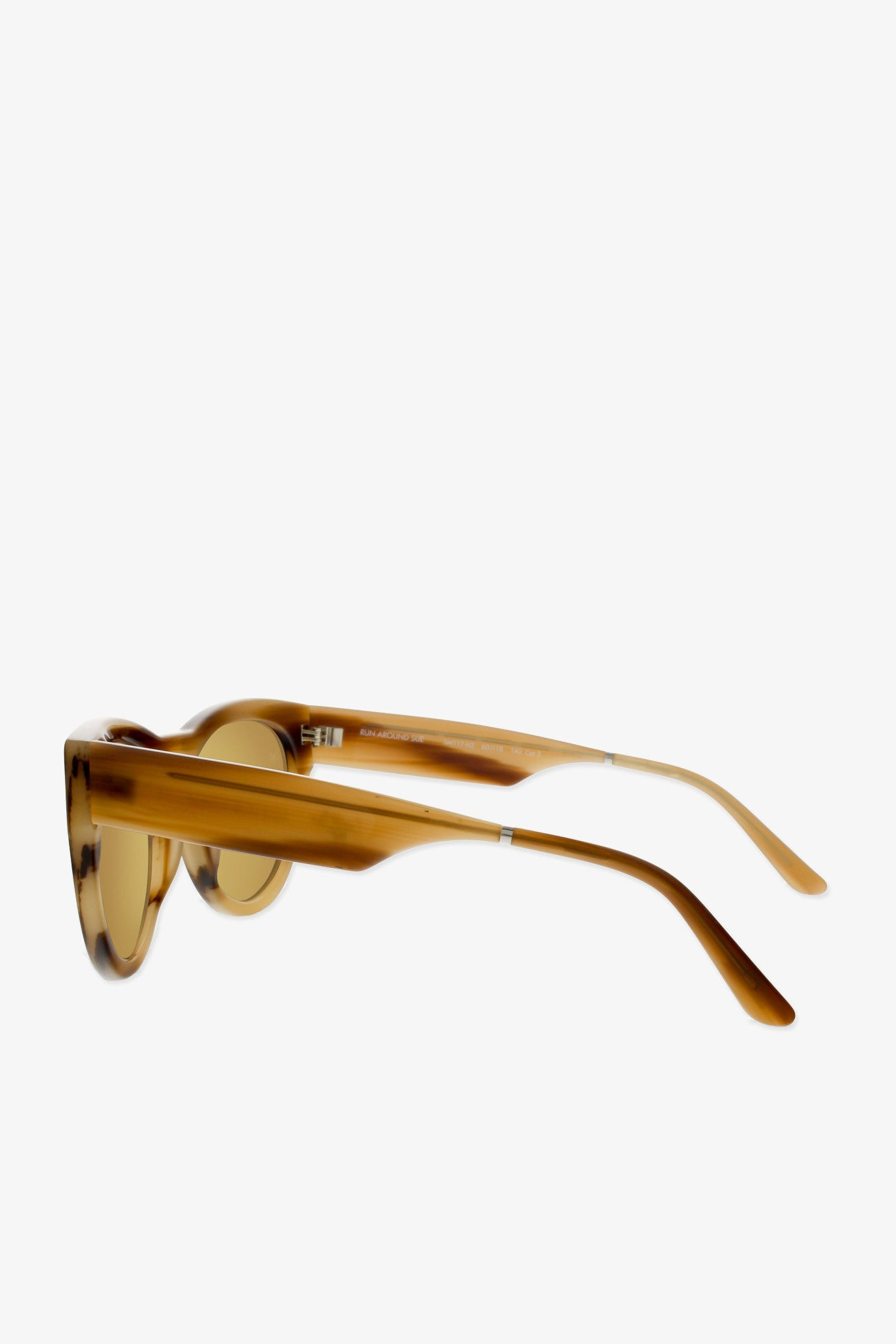 Run around sue sunglasses in milky tortoise