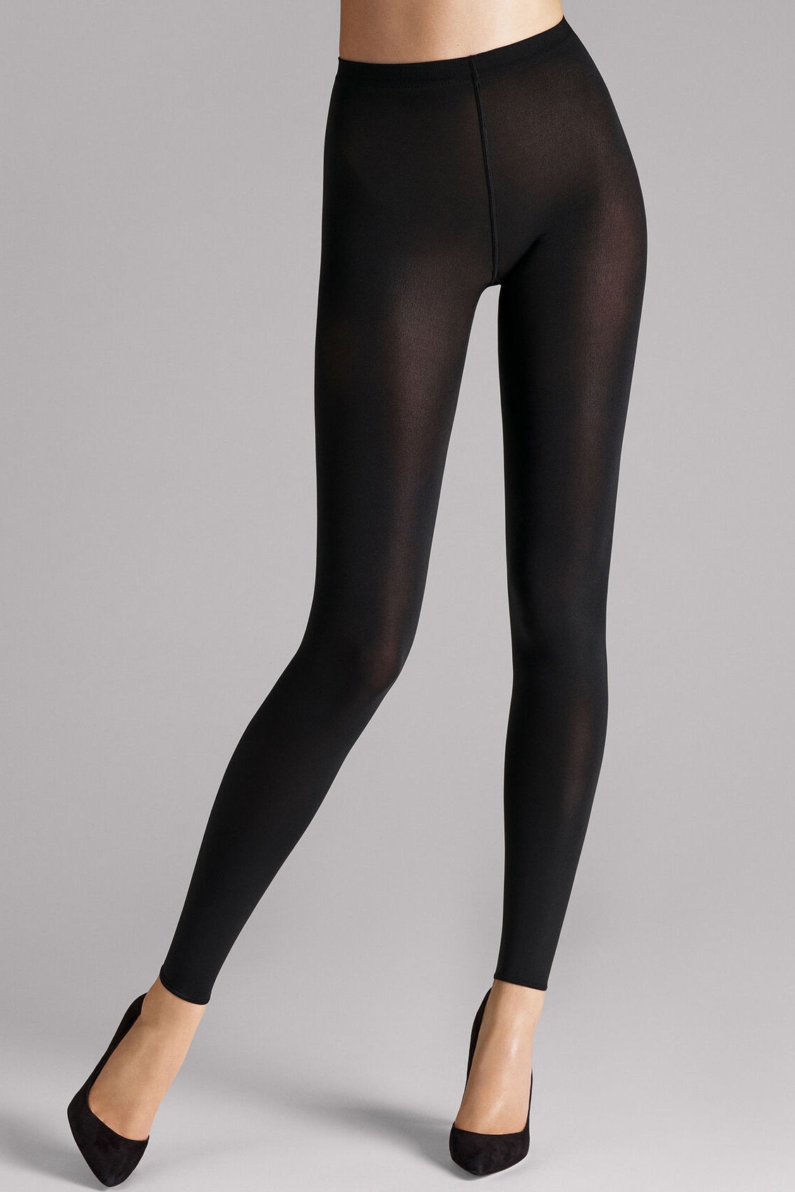 Mat Opaque 80 Leggings in Black
