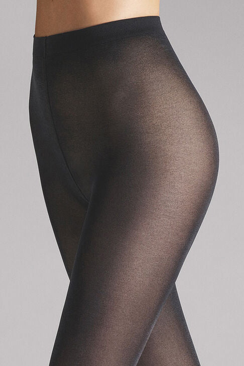 Satin Opaque 50 Tights in Anthracite