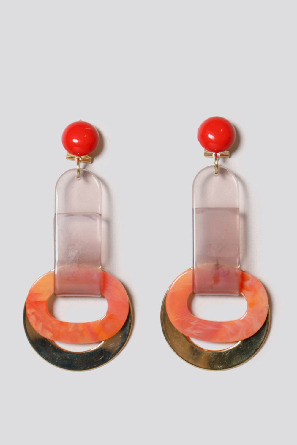 Somer Earrings in Watermelon