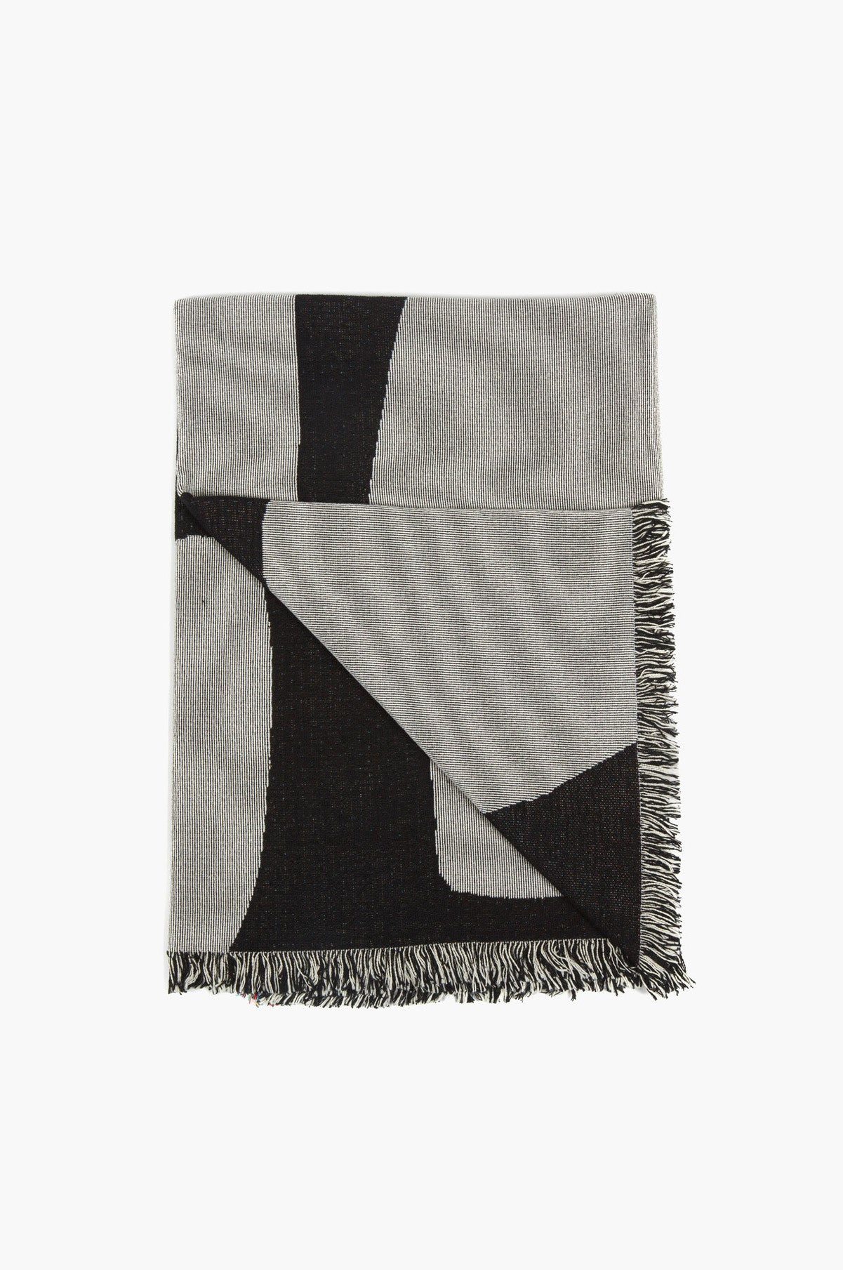 Slowdown Studio Curtis throw - Vert & Vogue