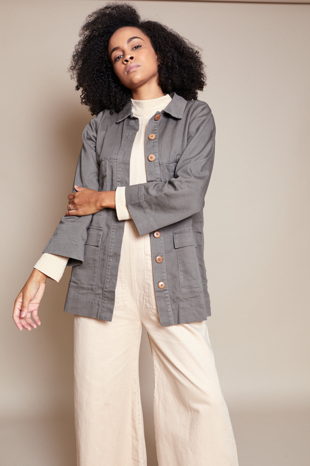 Mabel Jacket in Peat