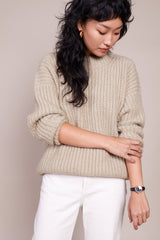 Fisherwoman Pullover in Willow