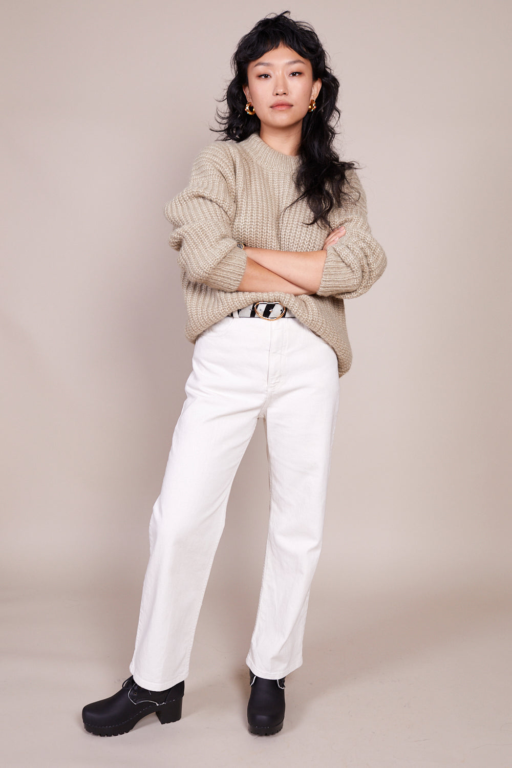 Rachel Comey Pennon Pant in Dirty White - Vert & Vogue