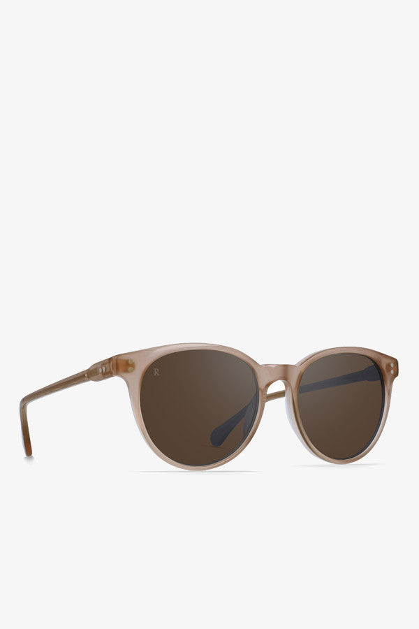 Raen Optics Norie sunglasses in rose brown - Vert & Vogue