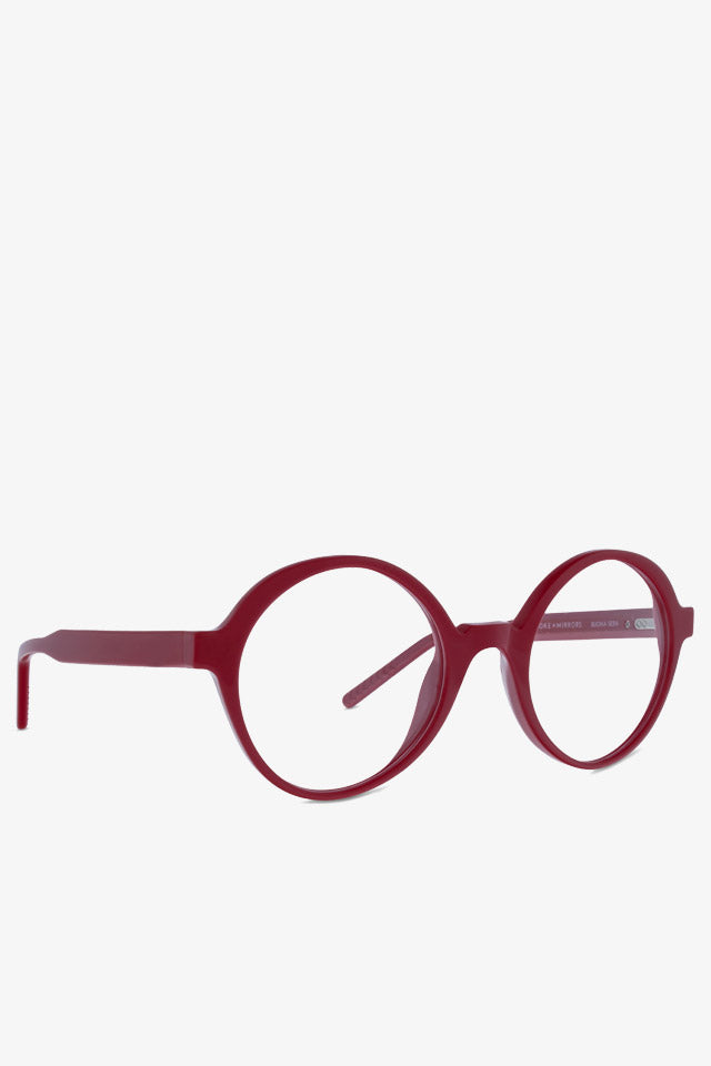 Buona Sera Solid Red Optical Glasses