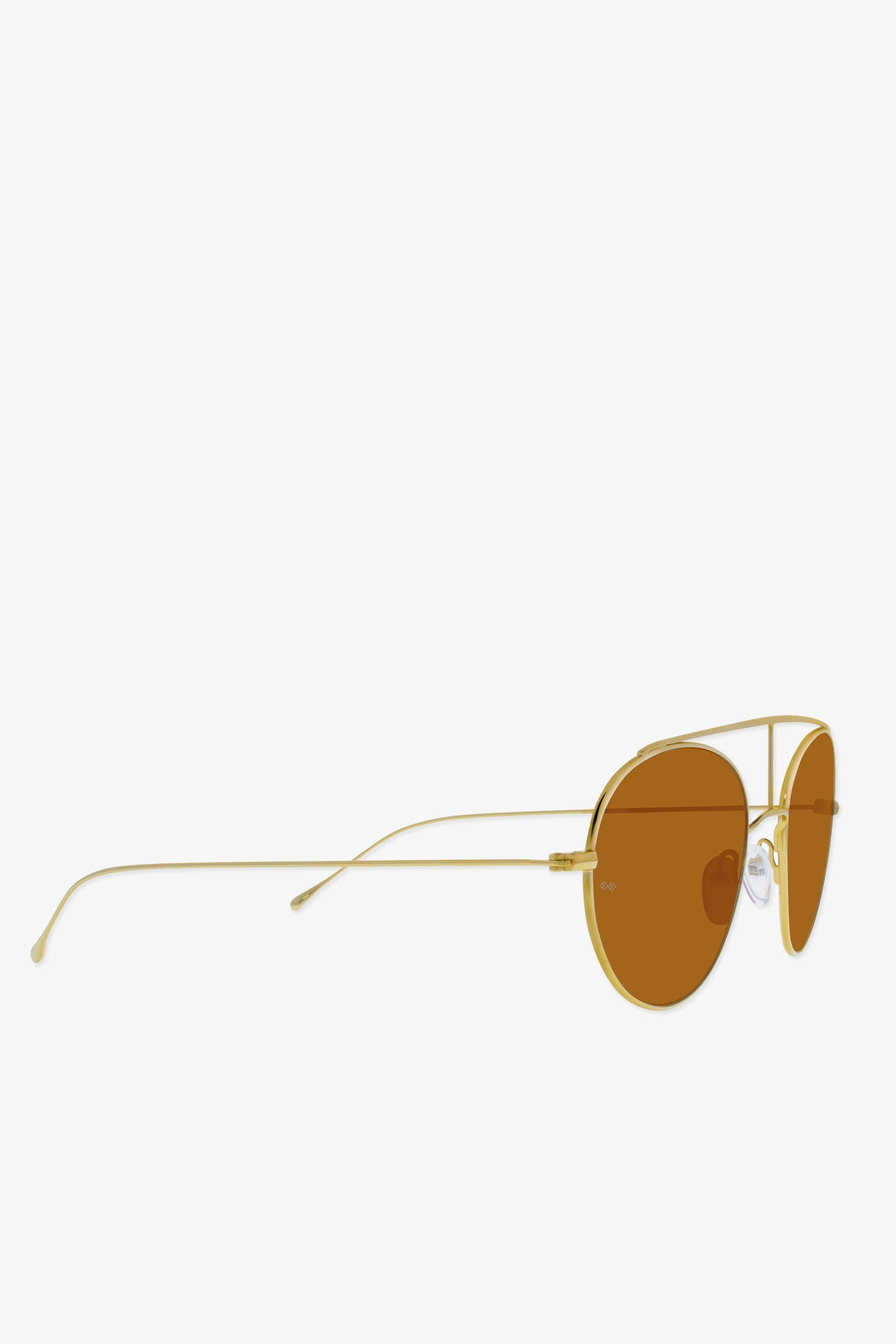Smoke x Mirrors Geo 6 sunglasses in gold - Vert & Vogue