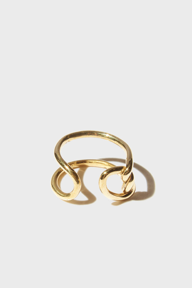 Tether Ring in Brass
