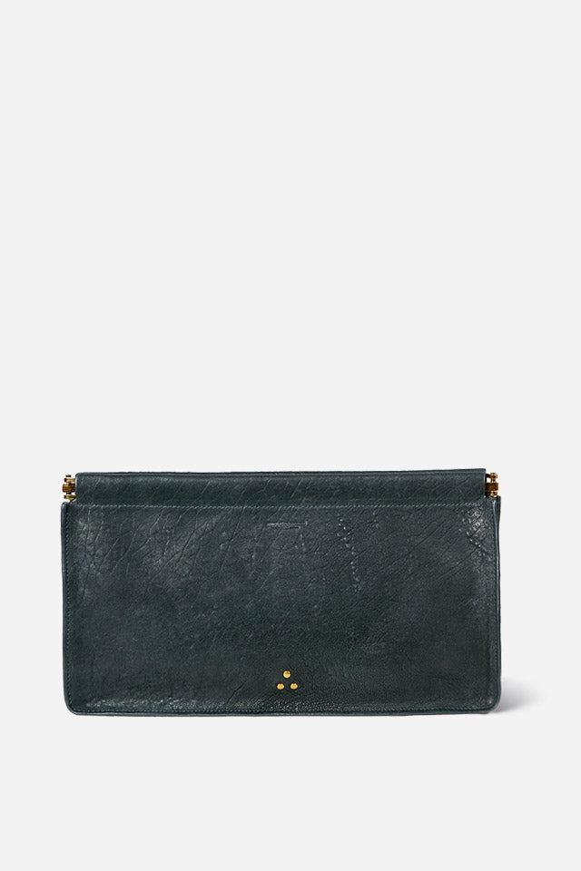 Clic Clac Clutch in Petrol