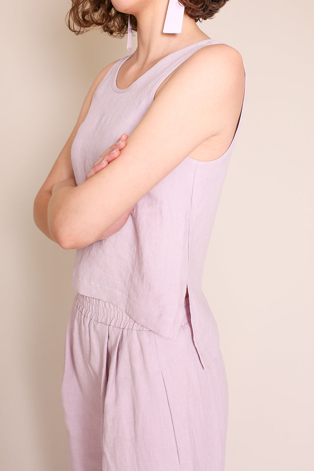 Roxey Tank in Lilac