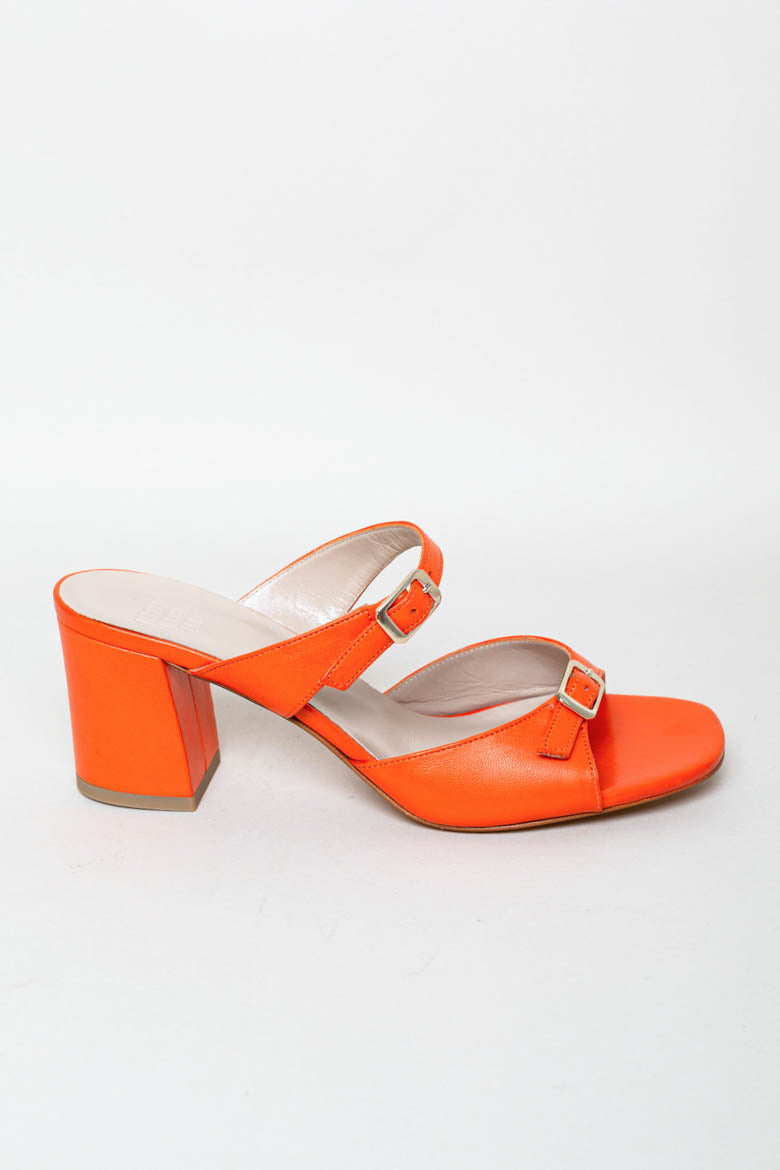 Una Sandal in Poppy