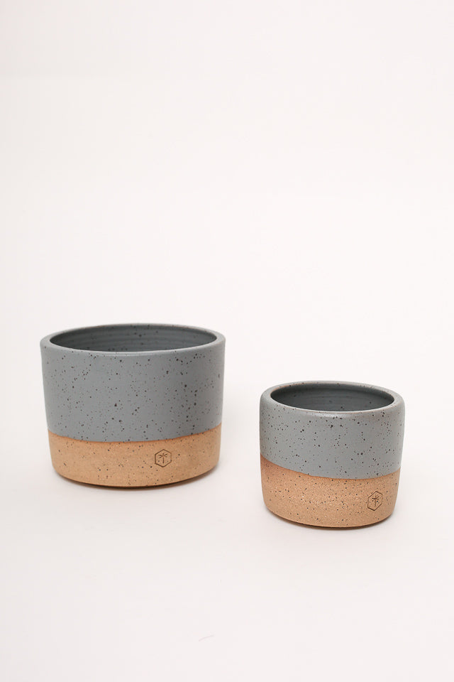 Matte Small Planter Grey