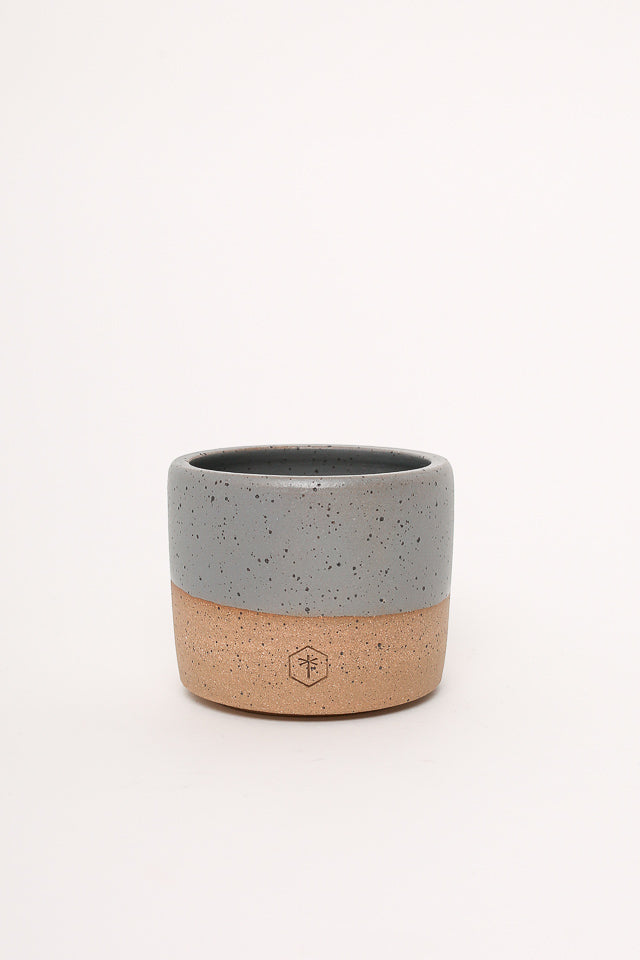 Willowvane Matte Small Planter Grey - Vert & Vogue