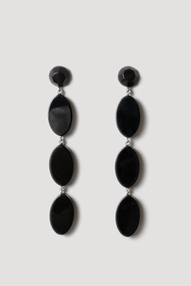 Bond Earring in Black