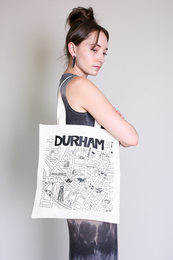 Durham grocery tote