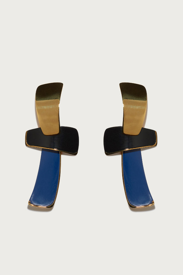 Lizzie Fortunato Ernesto Earrings in Cruise - Vert & Vogue