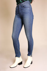 W3 High Rise Skinny Crop Jean in Dale