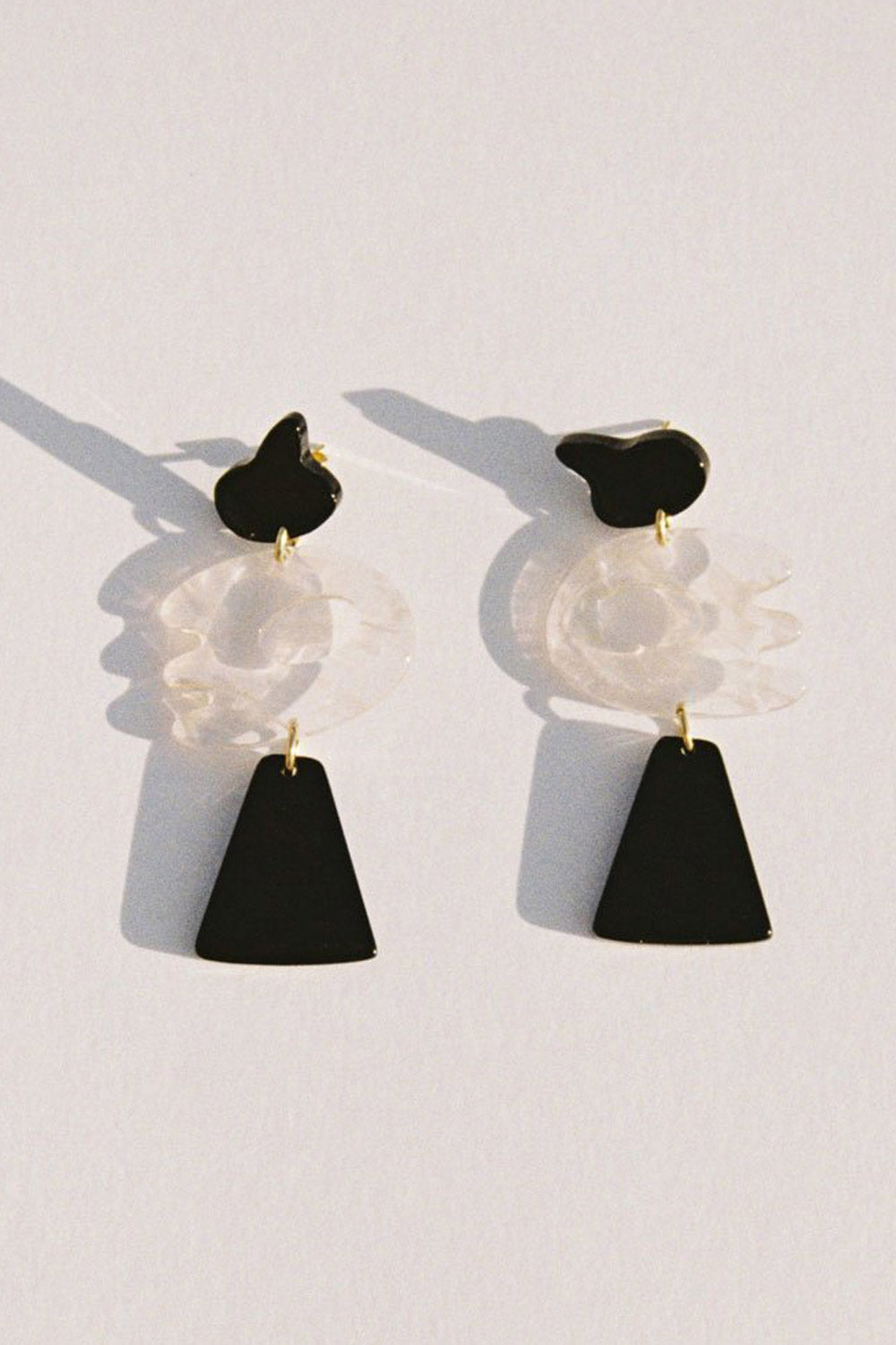 Rio Earrings in Black
