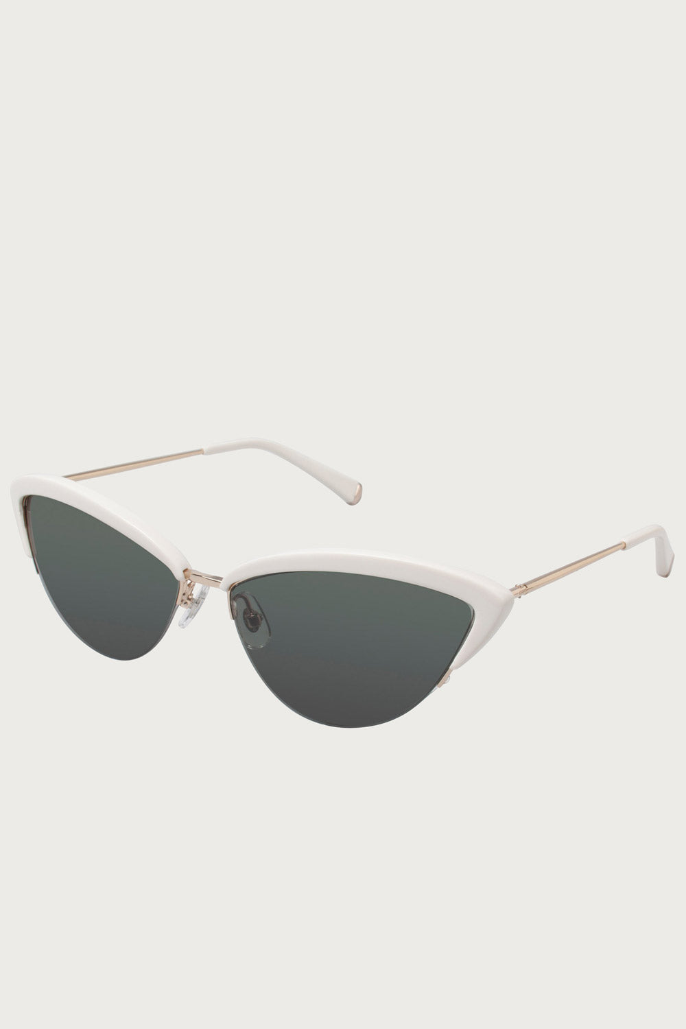 Ally Sunglasses in Bone