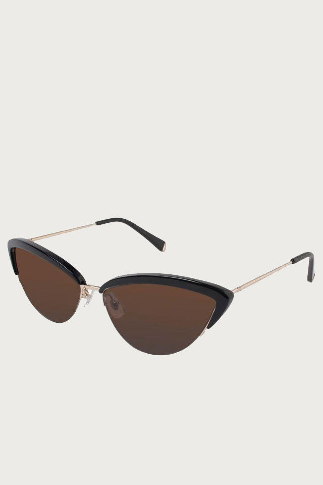 Ally Sunglasses in Black