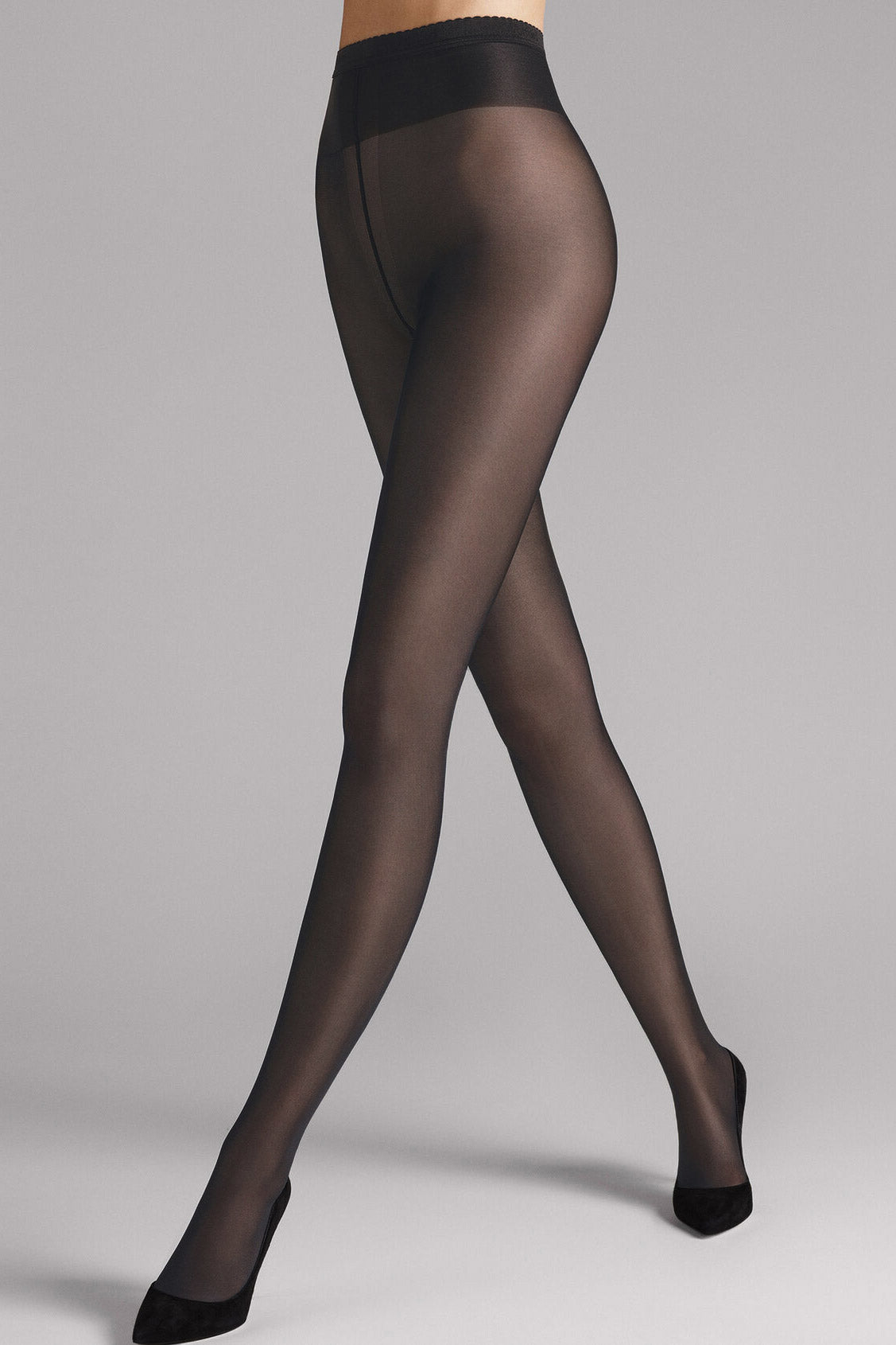 Neon 40 Tights in Black