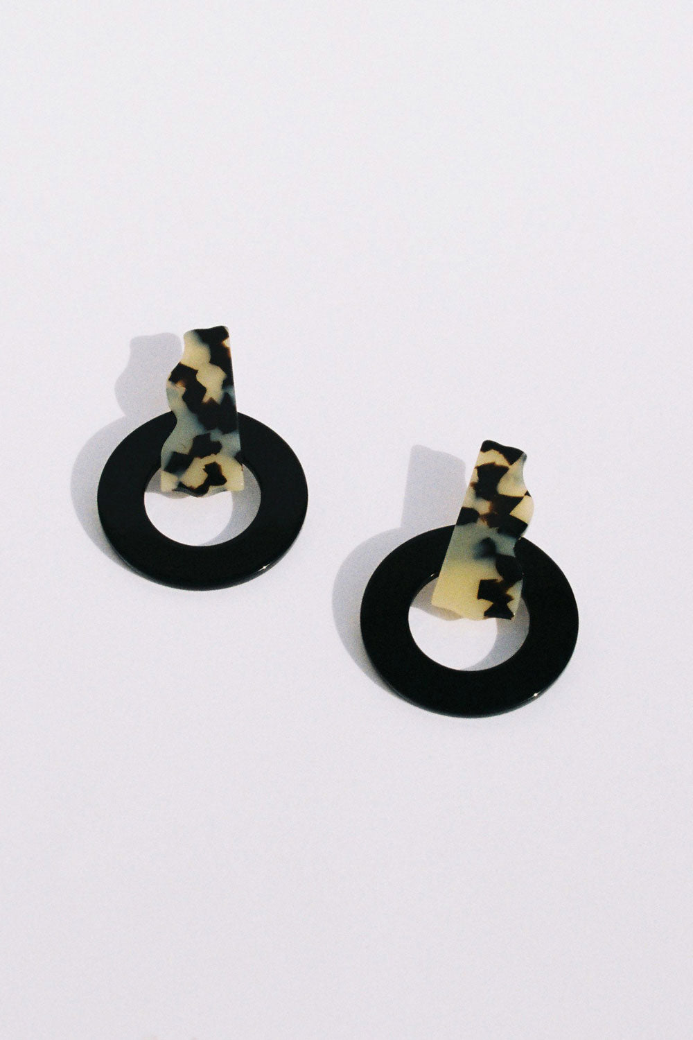 Plumaria Earrings in Dark