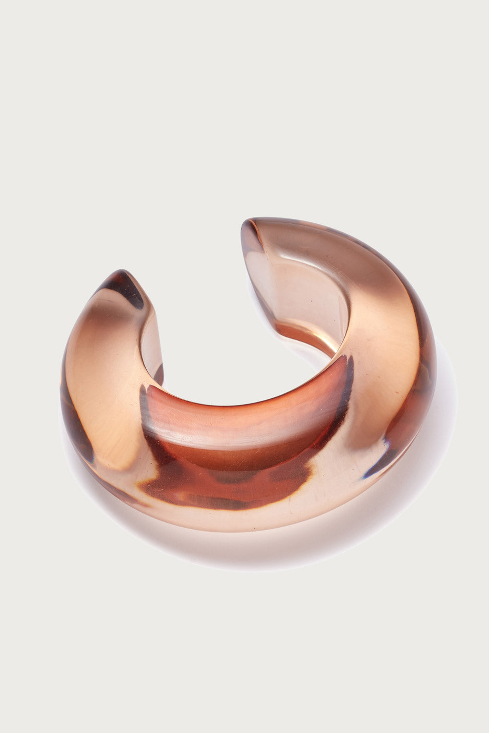 Arc Cuff in Caramel