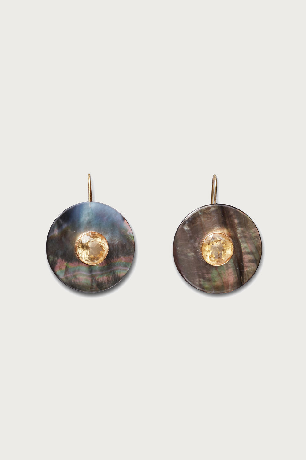 Taj Disc Earrings