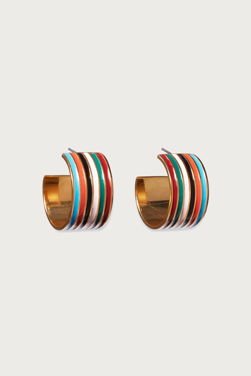 Margot Hoops in Rainbow