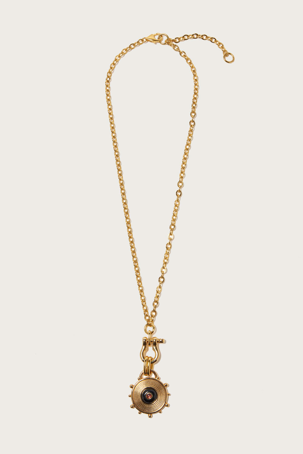 *Pre-Order* Helm Pendant Necklace in Gold