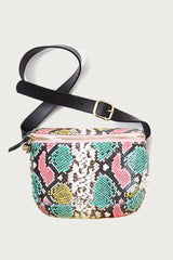 Fannypack in Pastel Painted Snake