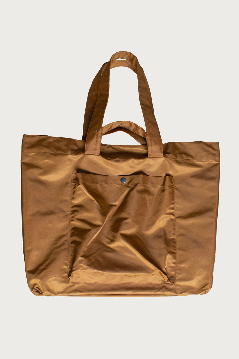Aviator Nylon Slouchy Tote in Amber