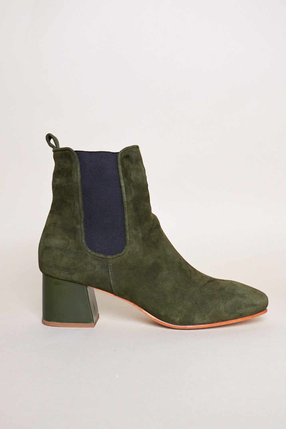 Bristol Ankle Boot in Pine / Bottle